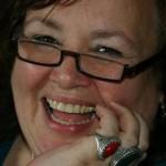 Diane Kutz laughing